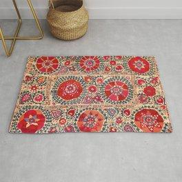 Samarkand Suzani Southwest Uzbekistan Embroidery Rug