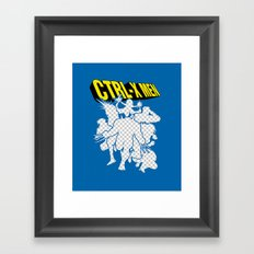 Ctrl-X Men Framed Art Print