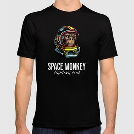 Space Monkey Fighting Club Astronaut Boxing Club T-shirt