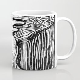 "Edvard Munch ""The Scream"", 1895 Coffee Mug"
