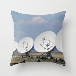 Very Large Array Throw Pillow