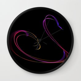 Swan #3 Wall Clock