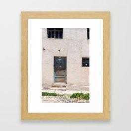 Bolivia door 5 Framed Art Print