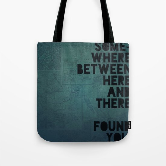 Here & There II Tote Bag
