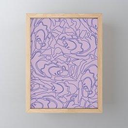 Pastel Pattern II Framed Mini Art Print