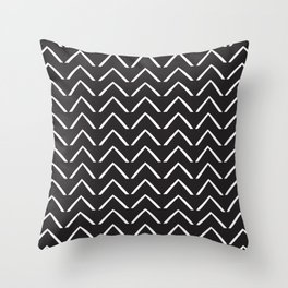 BIG ZIGZAG Throw Pillow