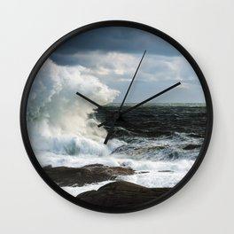 Evans Awash Wall Clock