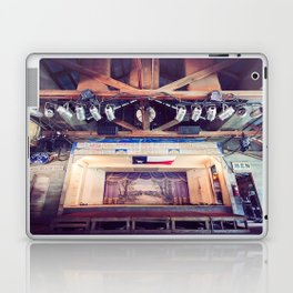 Gruene Hall stage (interior) - Oldest Dance Hall in Texas (Color) Laptop & iPad Skin