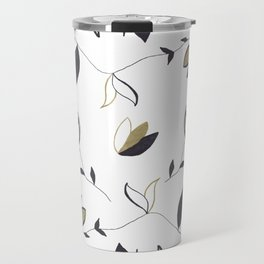 Tree Of Life - Floral & Foliage Pattern #1 #drawing #decor #art #society6 Travel Mug