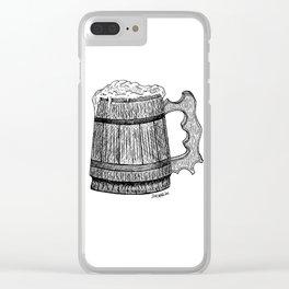 beer mug Clear iPhone Case