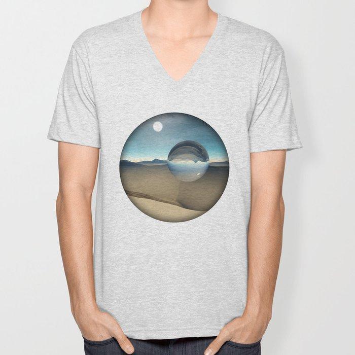 desert sphere void Unisex V-Neck