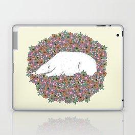 Bear in the Flowers Laptop & iPad Skin