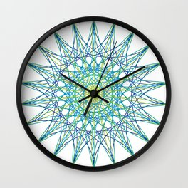 Concentrate Wall Clock