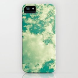 Clouds 024 iPhone Case