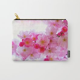 Cherry Blossom Tree So Pink Carry-All Pouch