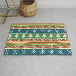 Christmas pattern II Rug