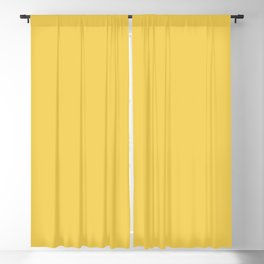 Primrose Yellow | Pantone Fashion Color Spring : Summer 2017 | Solid Color | Blackout Curtain