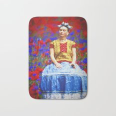 FRIDA dreaming away Bath Mat