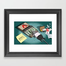 The Rat Trap Framed Art Print