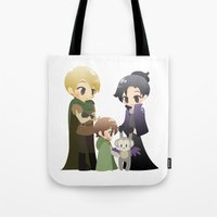 ouat Tote Bags featuring OUAT - Outlaw Queen by Choco-Minto
