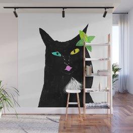 Kissy Cat Wall Mural