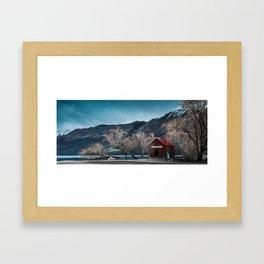 Boatshed Framed Art Print