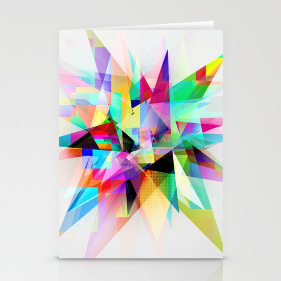 Colorful 3 Stationery Cards