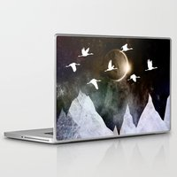 fly Laptop & iPad Skins featuring Fly High by Nireth