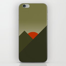 Forest Mountain iPhone Skin