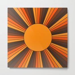 Golden Sunshine State Metal Print
