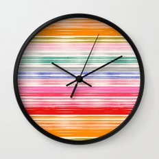 Waves 1 Wall Clock