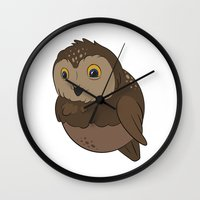 rocky Wall Clocks featuring Rocky by Birbles