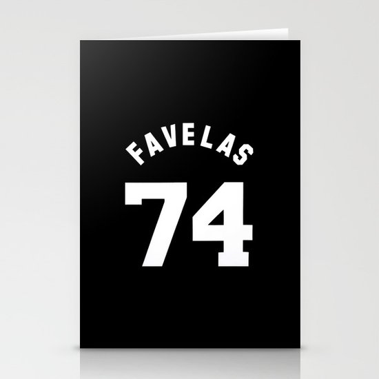 FAVELAS 74 GIVENCHY Stationery Cards