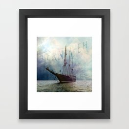 fernweh for distant lands [expedition to Galapagos] v2 Framed Art Print