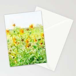 Texas Sunflowers Stationery Cards