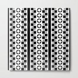 PATTERNED STRIPE Metal Print