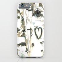 Winter Romance Birch Forest  iPhone 6s Slim Case