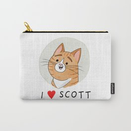 I <3 Scott Carry-All Pouch
