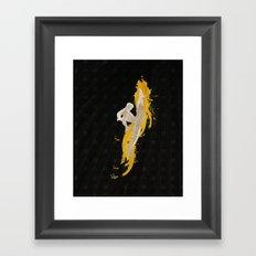 The Last Dragon (Homage to Fei Long of Street Fighter) Framed Art Print