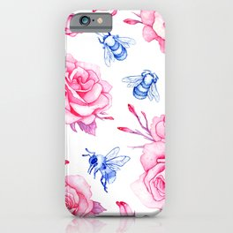 Porcelain Bumblebee iPhone Case