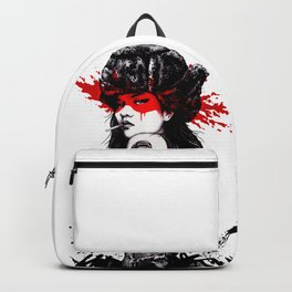 Cool Girl Style Fashion Popart Hipster Backpack