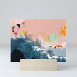 la mer Mini Art Print