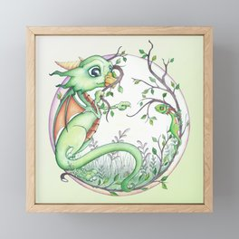 What Are You, And Do You Bite? Framed Mini Art Print