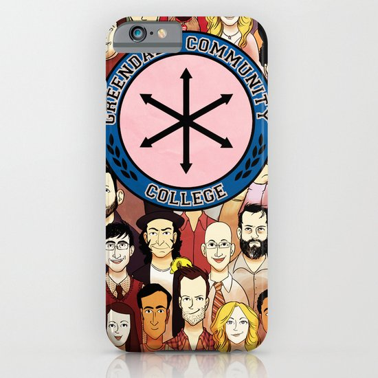 Greendale Human Beings iPhone & iPod Case