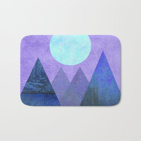 Take Me Away, Mountains, Full Moon Bath Mat