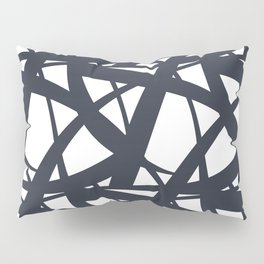 Dark Blue and White Abstract Mosaic Pattern 3 Pairs To Jolie 2020 Color of the Year Pillow Sham