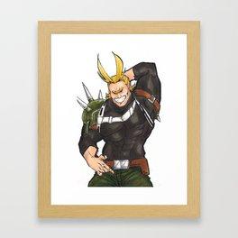 All Smite Pose Framed Art Print