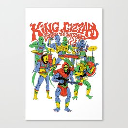 king gizzard and the lizard wizard Canvas Print