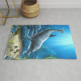 The World Of The Dolphin Rug