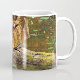 Gathering Lilies - Eastman Johnson Coffee Mug